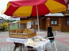Ook hondjes verkopen broodjes