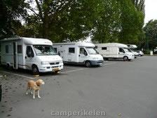 Overnachting op de parkeerplaats in Echternach