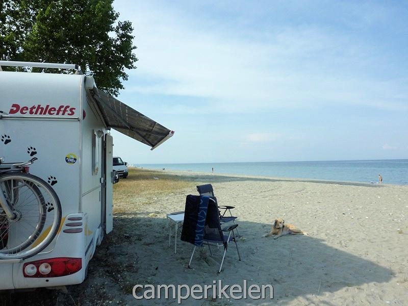 Aan het strand in Nei Pori