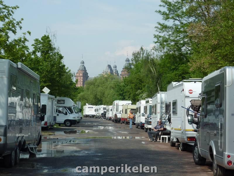 Camperplaats Aschaffenburg