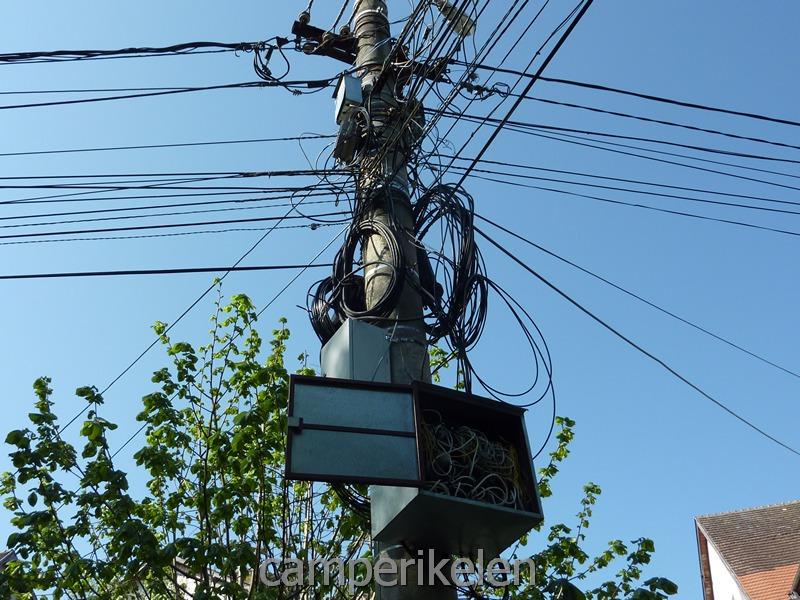 """""""Veilige?"""" stroomvoorziening"""