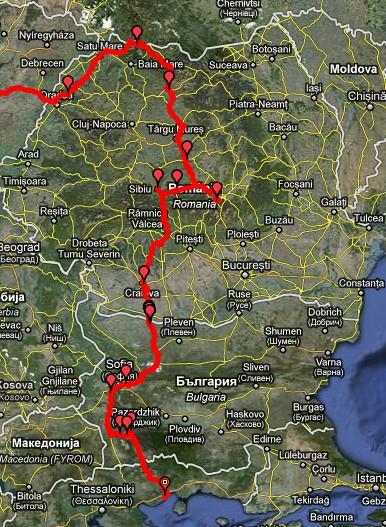 Roemenië / Bulgarije 2011