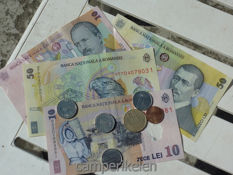 Roemeens geld