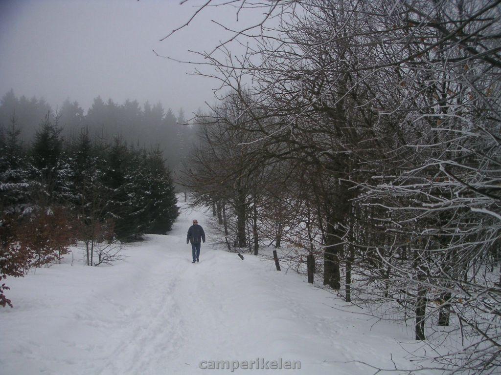 Wandeling bij Winterberg