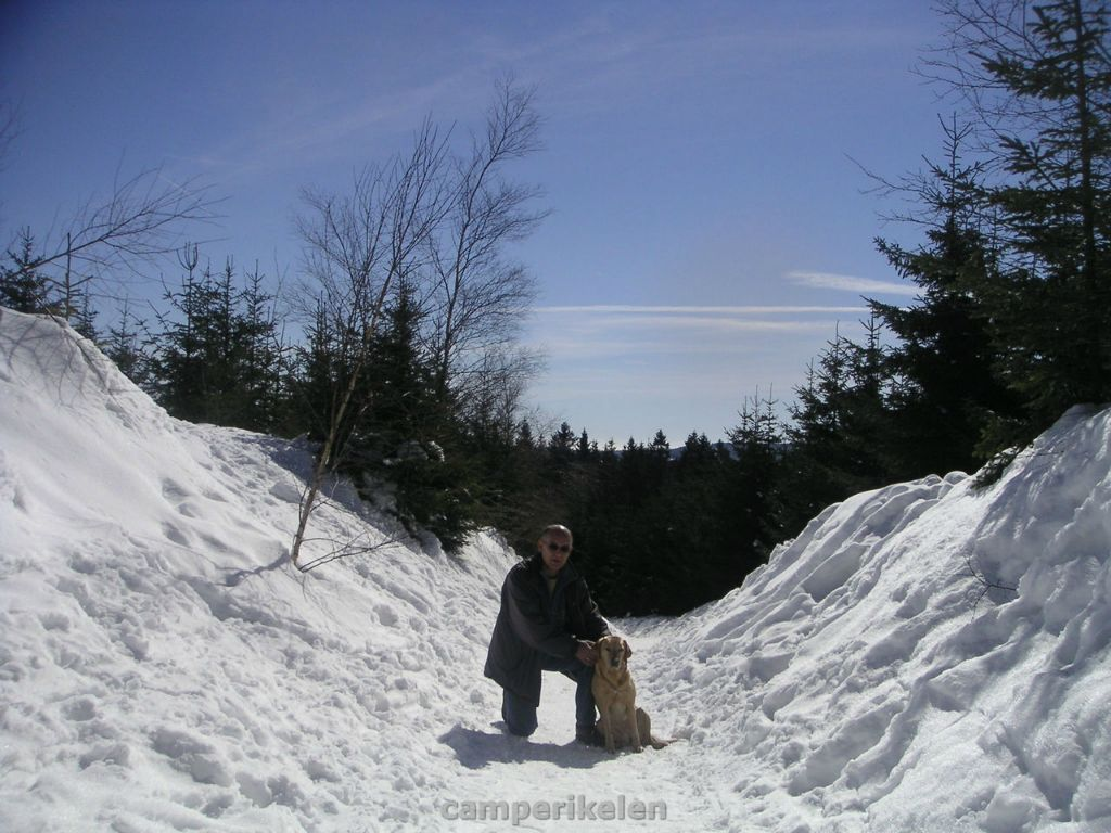 Lekker in sneeuw