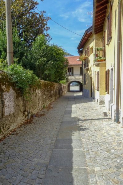Straat in Maccagno